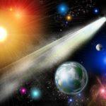 фотообои в Оренбурге комета и солнце