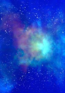 голубой космический свет в Оренбурге купить фотообои