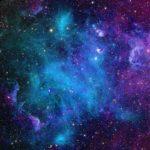 синяя лазурная туманность в Оренбурге фотообои
