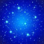 Синие звезды в Оренбурге купить фотообои