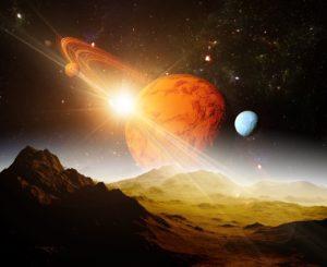 Марс с сатурном фотообои цена Оренбург