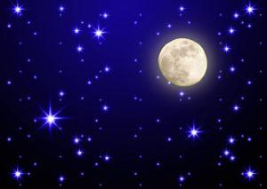 луна и звезды Оренбург фотообои цена