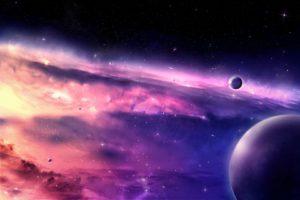 синее небо и космос купить фотообои в Оренбурге