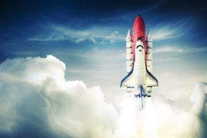 взлет ракета Оренбург фотообои цена