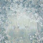 фотообои Оренбург лес с лианами синий
