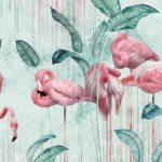 фотообои в Оренбурге фламинго